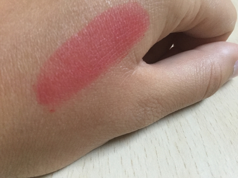 Swatch Rouge à lèvres peel-off WOW, Romantic bear