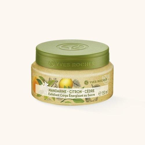 Exfoliant Énergisant au Sucre - Mandarine Citron et Cèdre, Yves Rocher - Infos et avis