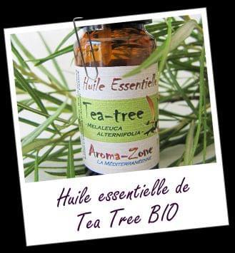 Huile Essentielle Tea Tree, Aroma-Zone : Marhy aime !