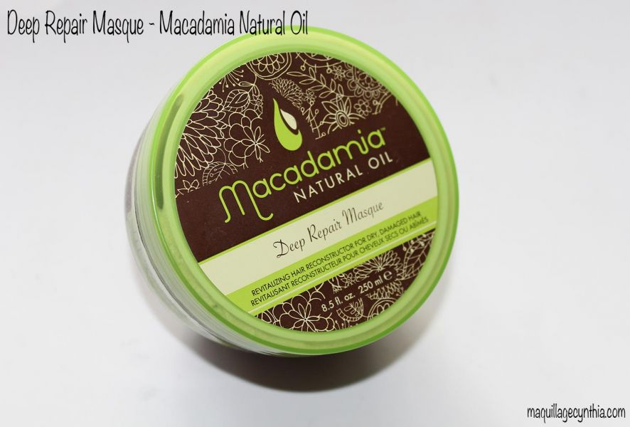 Deep Repair Masque, Macadamia Natural Oil - Infos et avis