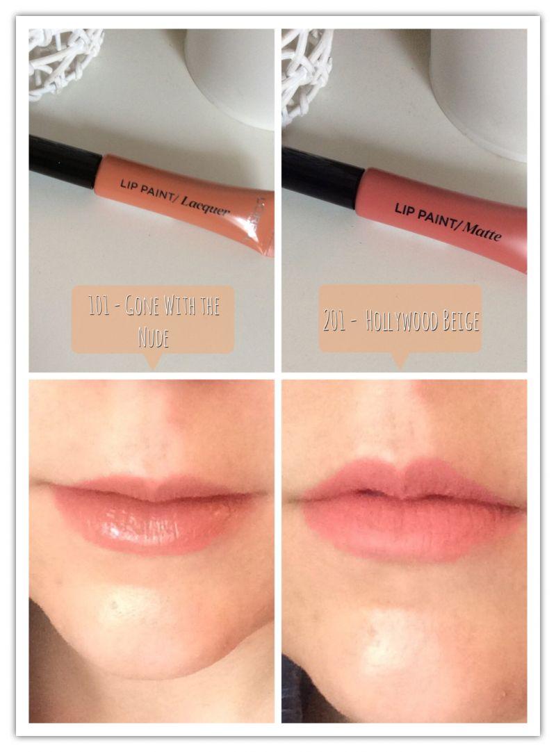 Swatch Infaillible Lip Paint/Matte, L'Oréal Paris