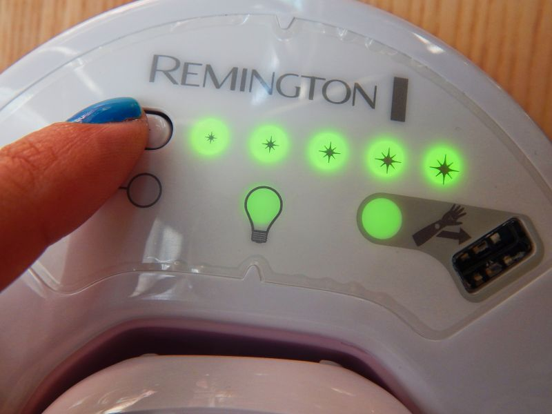 Swatch Remington IPL6250 Épilateur à Lumière Pulsée I-Light Essentiel, Remington