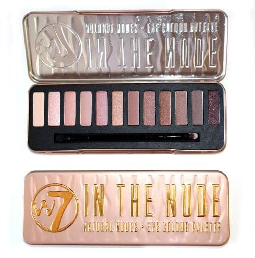Palette In The Nude, W7 Cosmetics : myrland aime !