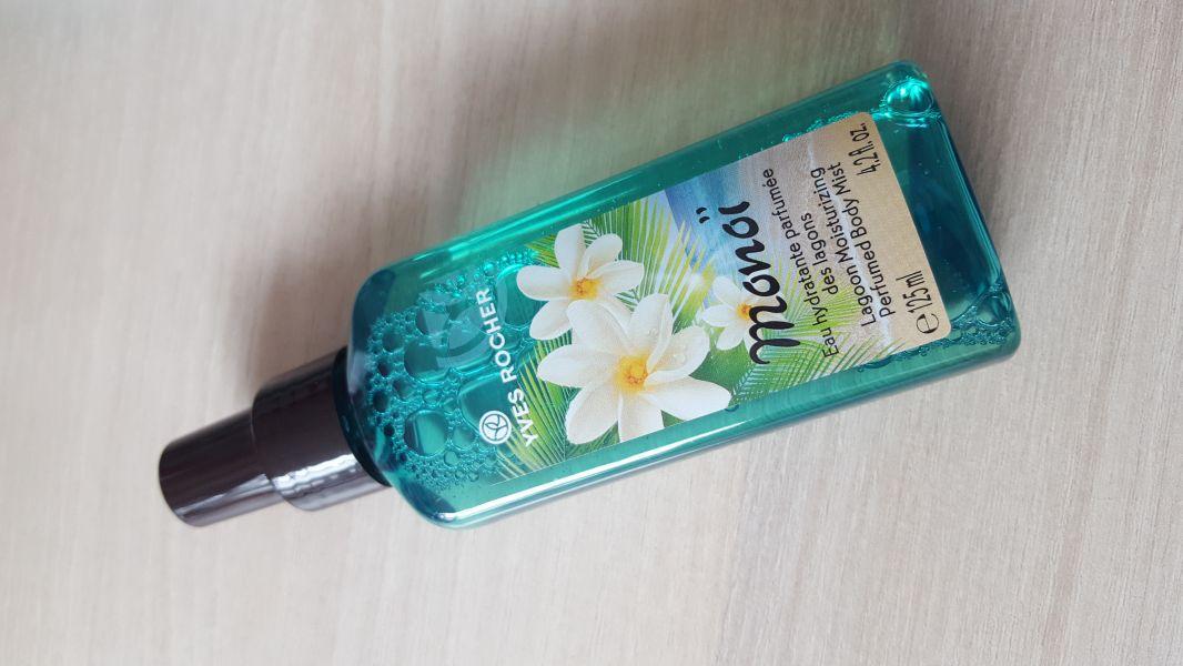 Swatch Eau Hydratante Parfumée des Lagons Monoï, Yves Rocher