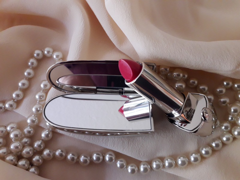 Swatch Rouge G, Guerlain