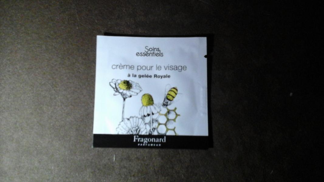 Swatch Crème pour le visage, Fragonard
