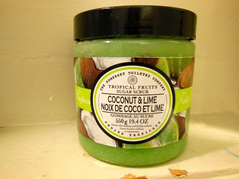 Swatch Coconut & Lime Sugar Scrub, The Somerset Toiletry Co.