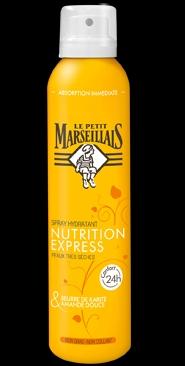 Swatch Spray Nutrition Express Karité et Amande douce, Le Petit Marseillais