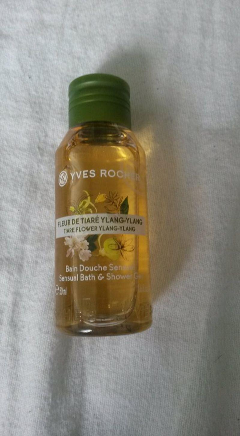 Swatch Bain Douche Sensuel Fleur de Tiaré Ylang-Ylang, Yves Rocher