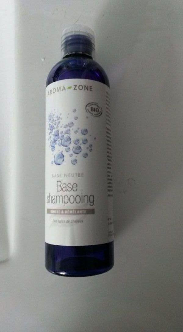 Swatch Base shampooing neutre bio, Aroma-Zone