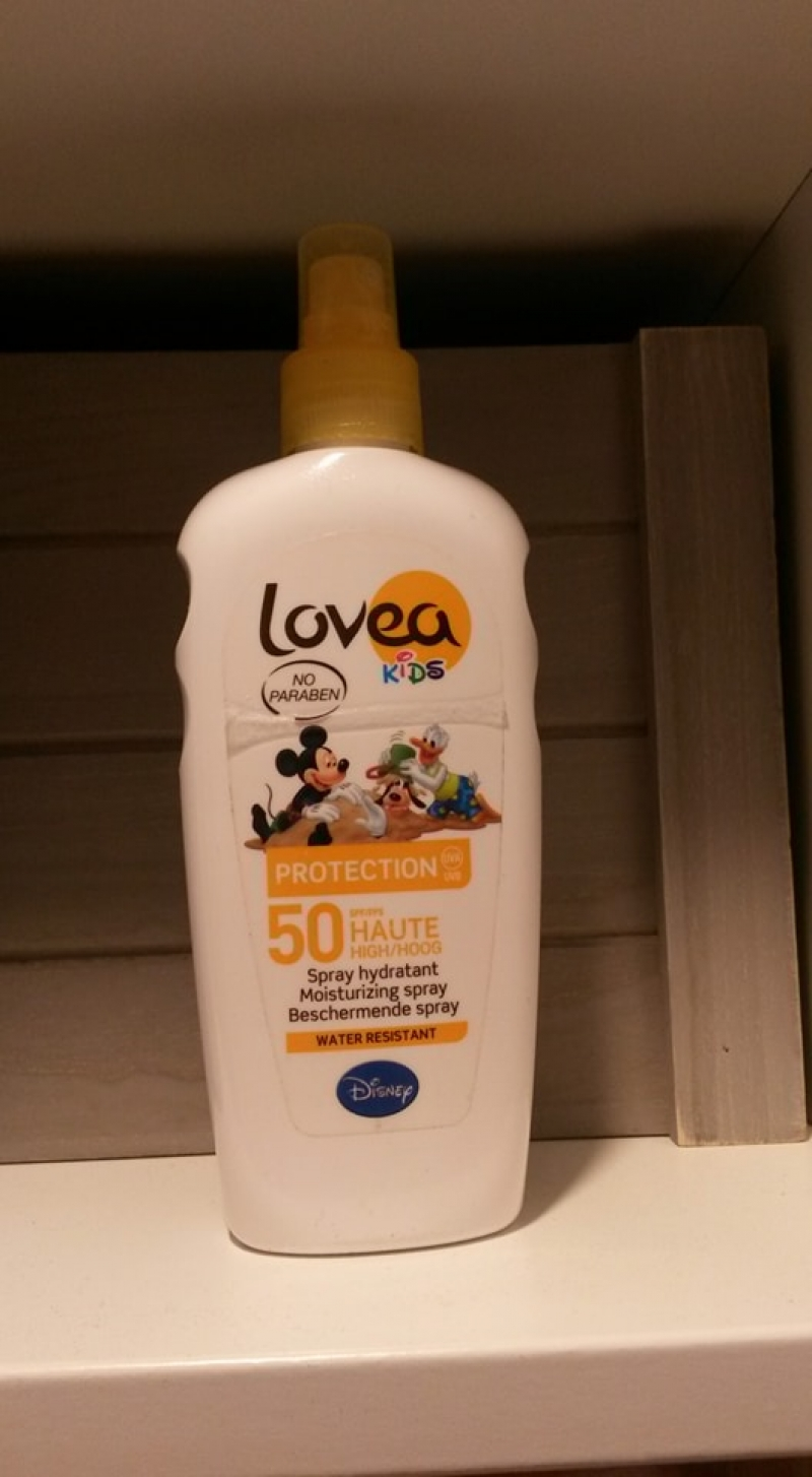 Swatch Kids Spray hydratant SPF 50, Lovea
