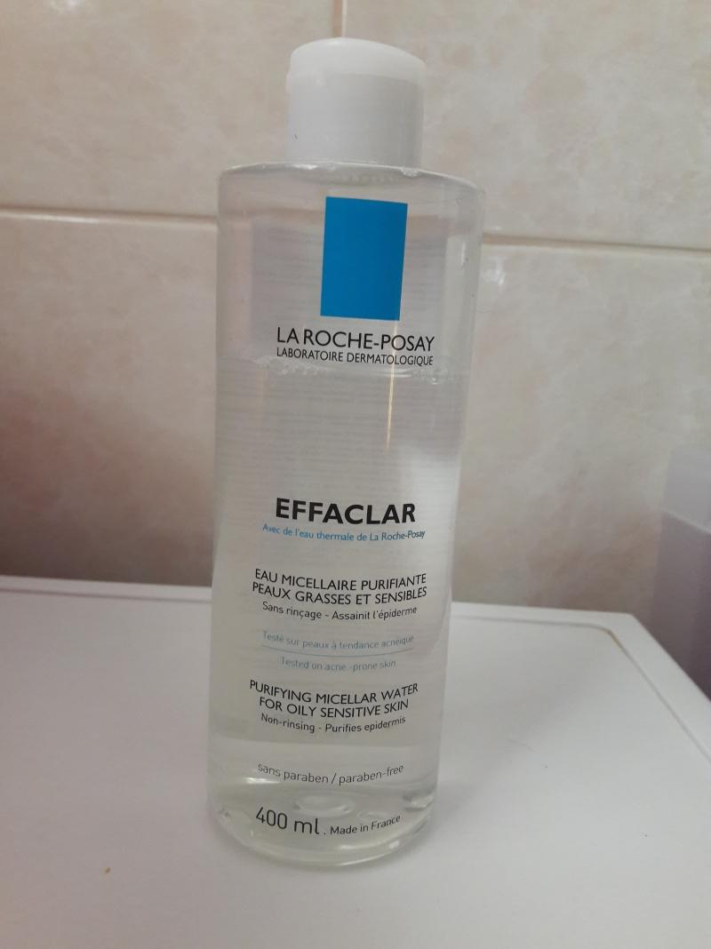 Swatch Eau Micellaire Purifiante Peaux Grasses et Sensibles Effaclar, La Roche-Posay