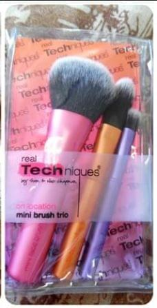 Swatch Mini Brush Trio, Real Techniques