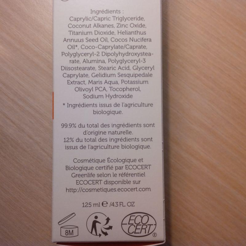 Swatch Spray Solaire 50 Alga Maris, Laboratoires de Biarritz