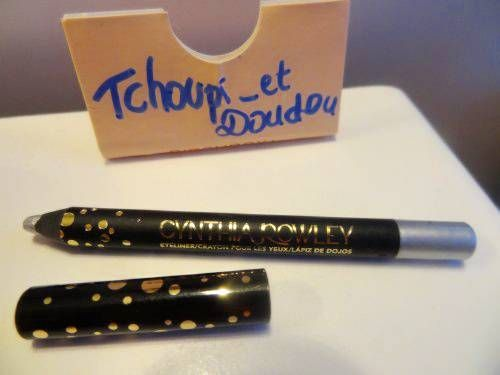 Swatch Eye Pencil - Eye Pencil Black - Cynthia Rowley Beauty, Cynthia Rowley Beauty