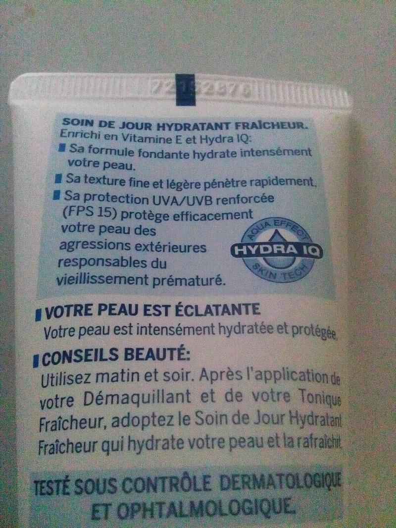 Swatch Soin de Jour Hydratant Fraîcheur, Nivea