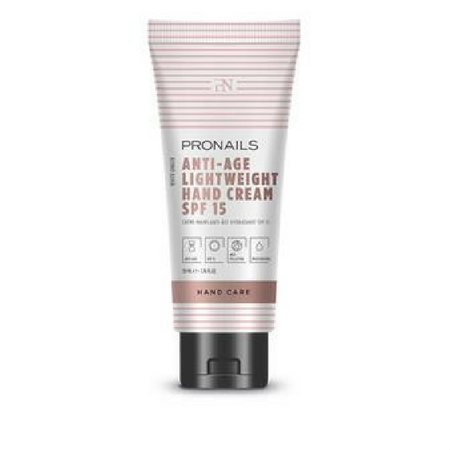 Anti-Age Hand Cream Light Weight SPF 15, Pronails - Infos et avis