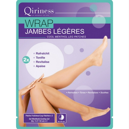 Wrap Jambes Légères - Patchs Jambes Fraîcheur, Qiriness : Maellevanity aime !