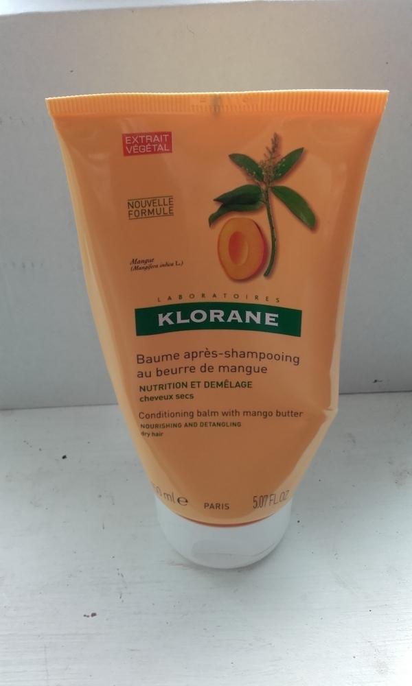 Swatch Baume après shampoing au beurre de mangue, Klorane