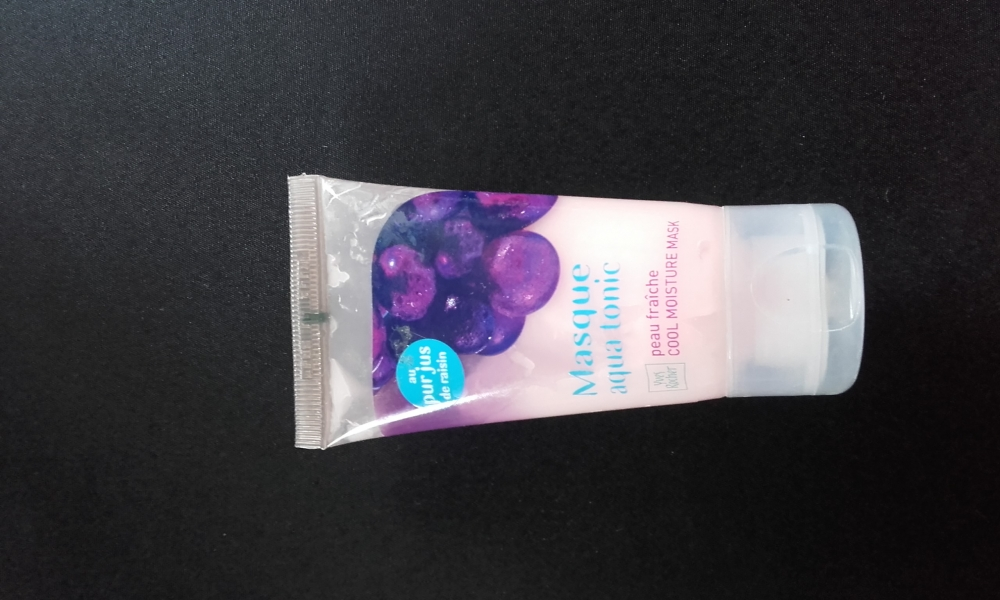Swatch Masque Aqua Tonic au Pur Jus de Raisin, YVES ROCHER
