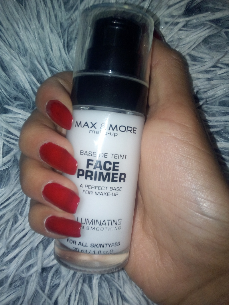 Swatch Base de Teint Face Primer, Max & More