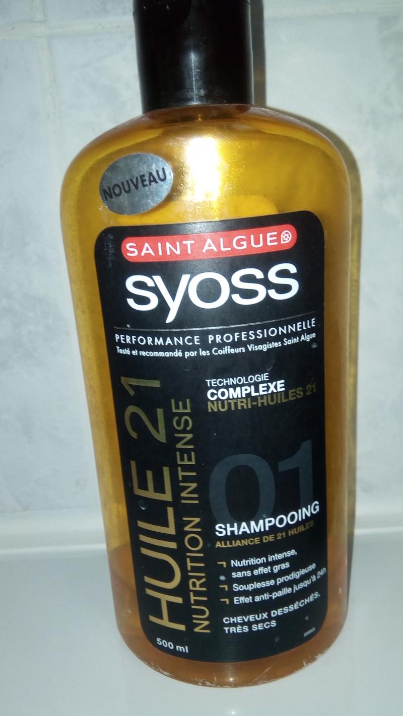 Swatch Shampoing nutri-huiles 21, Saint Algue Syoss