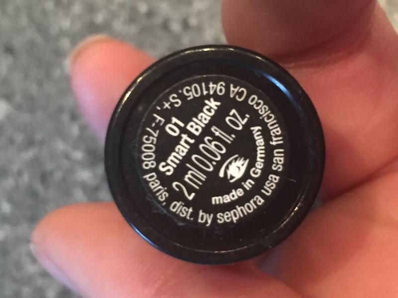 Swatch Fingertip - Eyeliner, Sephora