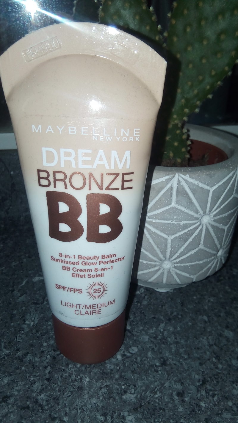 Swatch DREAM BRONZE BB, Maybelline New York