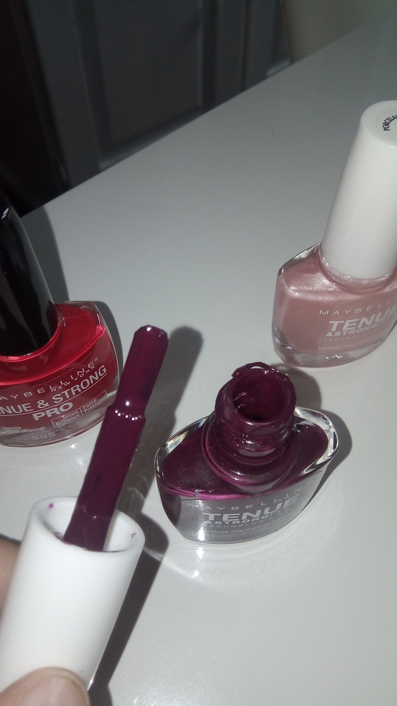 Swatch Vernis, Maybelline New York