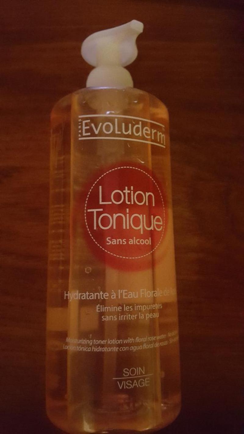 Swatch Lotion tonique sans alcool, Evoluderm