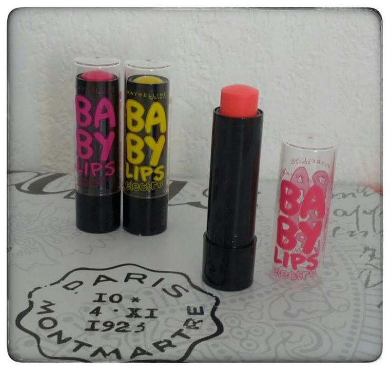 Swatch Babylips Electro, Gemey-Maybelline