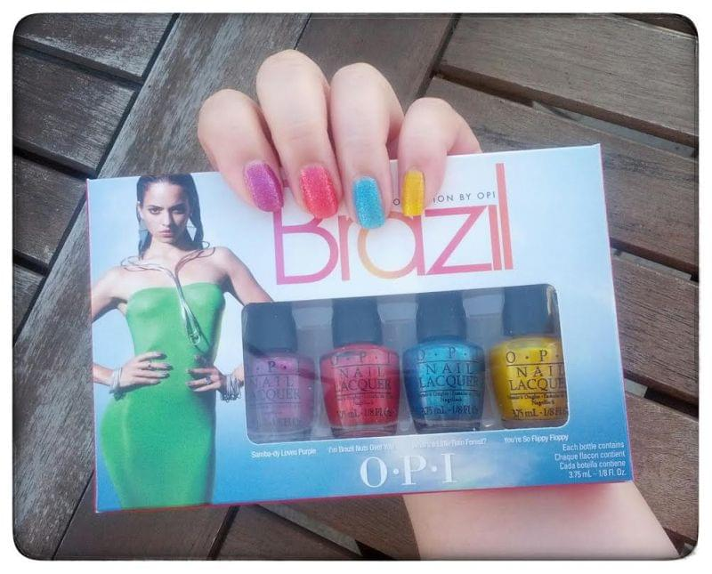 Swatch Brazil Beach Sandies Mini Kit, OPI