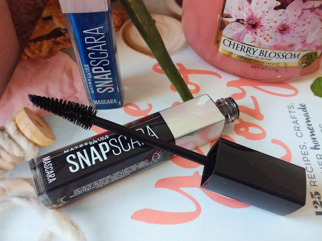 Swatch Snapscara, Maybelline New York