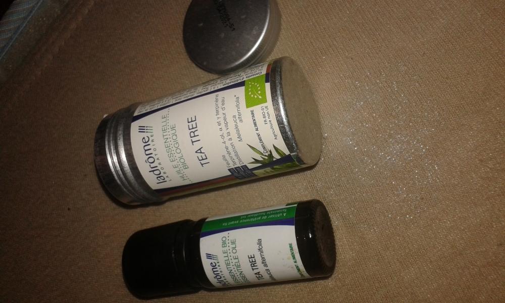 Swatch Huile essentielle bio Tea tree, Naturactive
