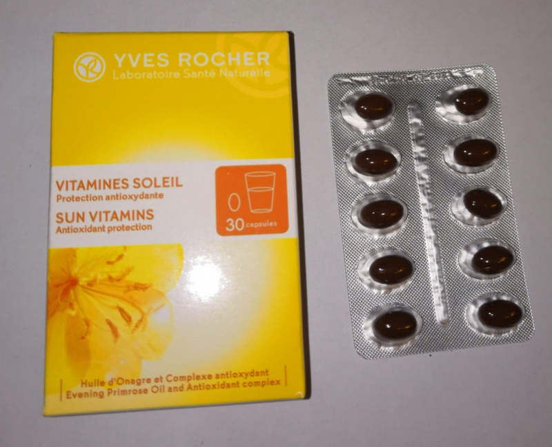 Swatch Vitamines Soleil, Protection Anti-Oxydante, Yves Rocher
