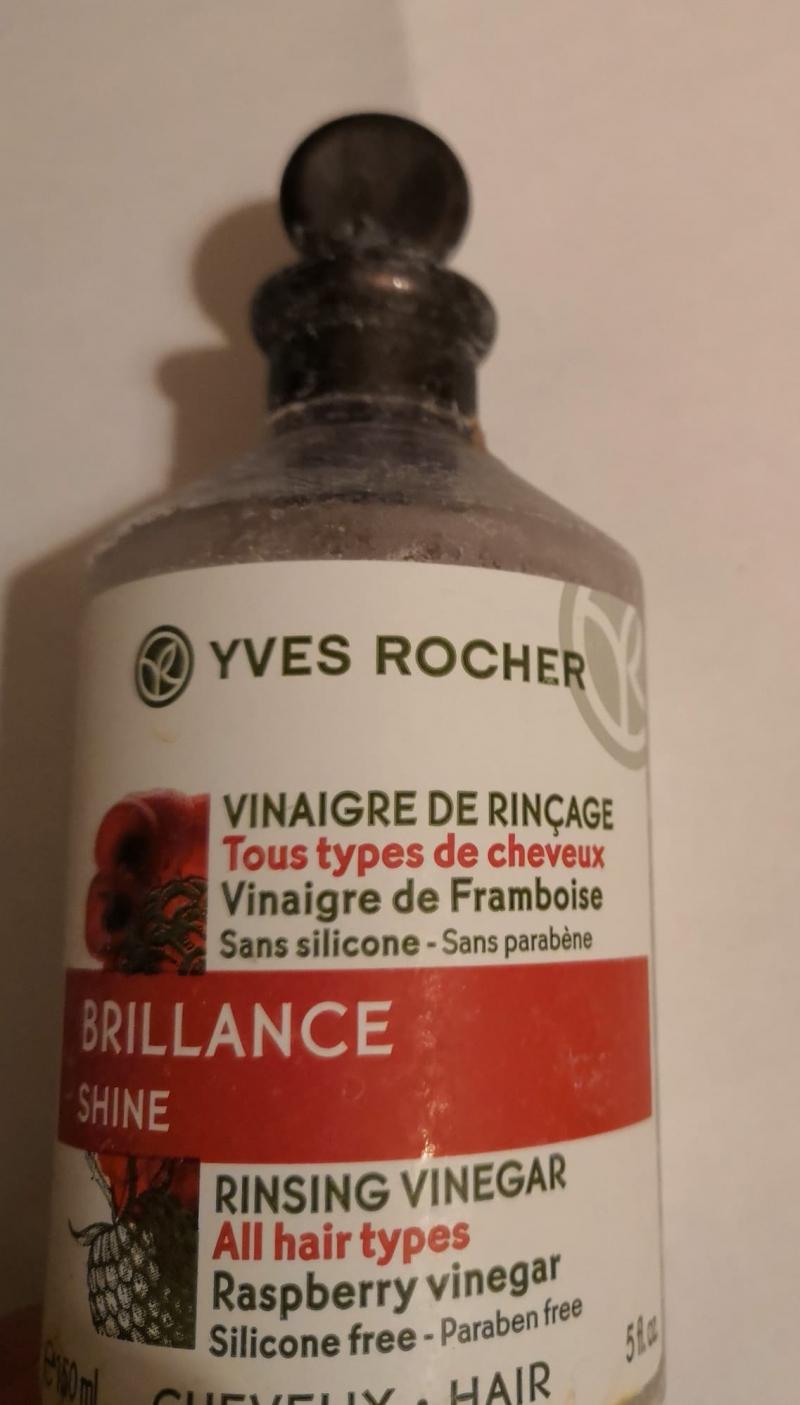 Swatch Brillance - Vinaigre de Rinçage, Yves Rocher