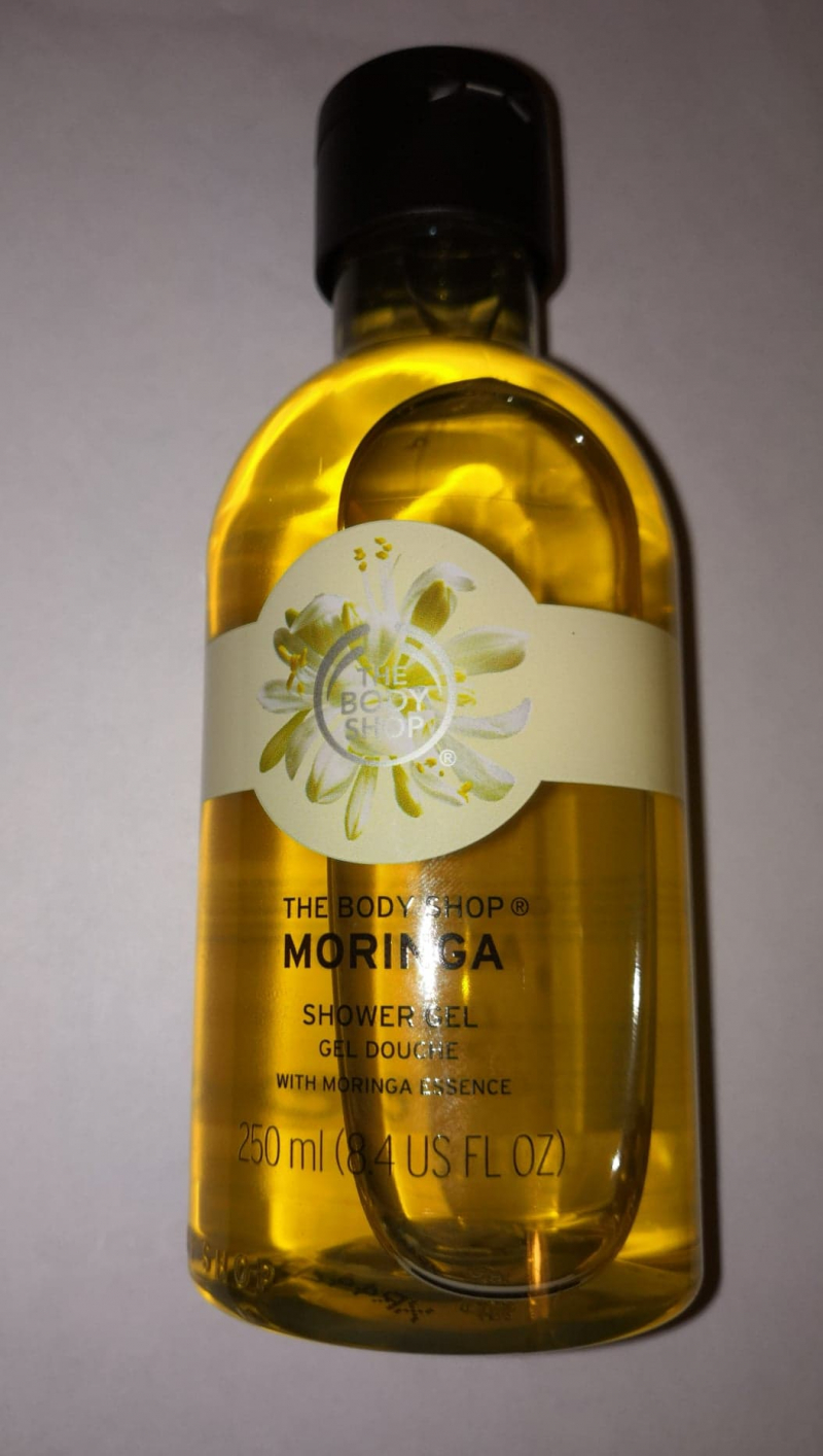 Swatch Gel Douche Moringa, The Body Shop