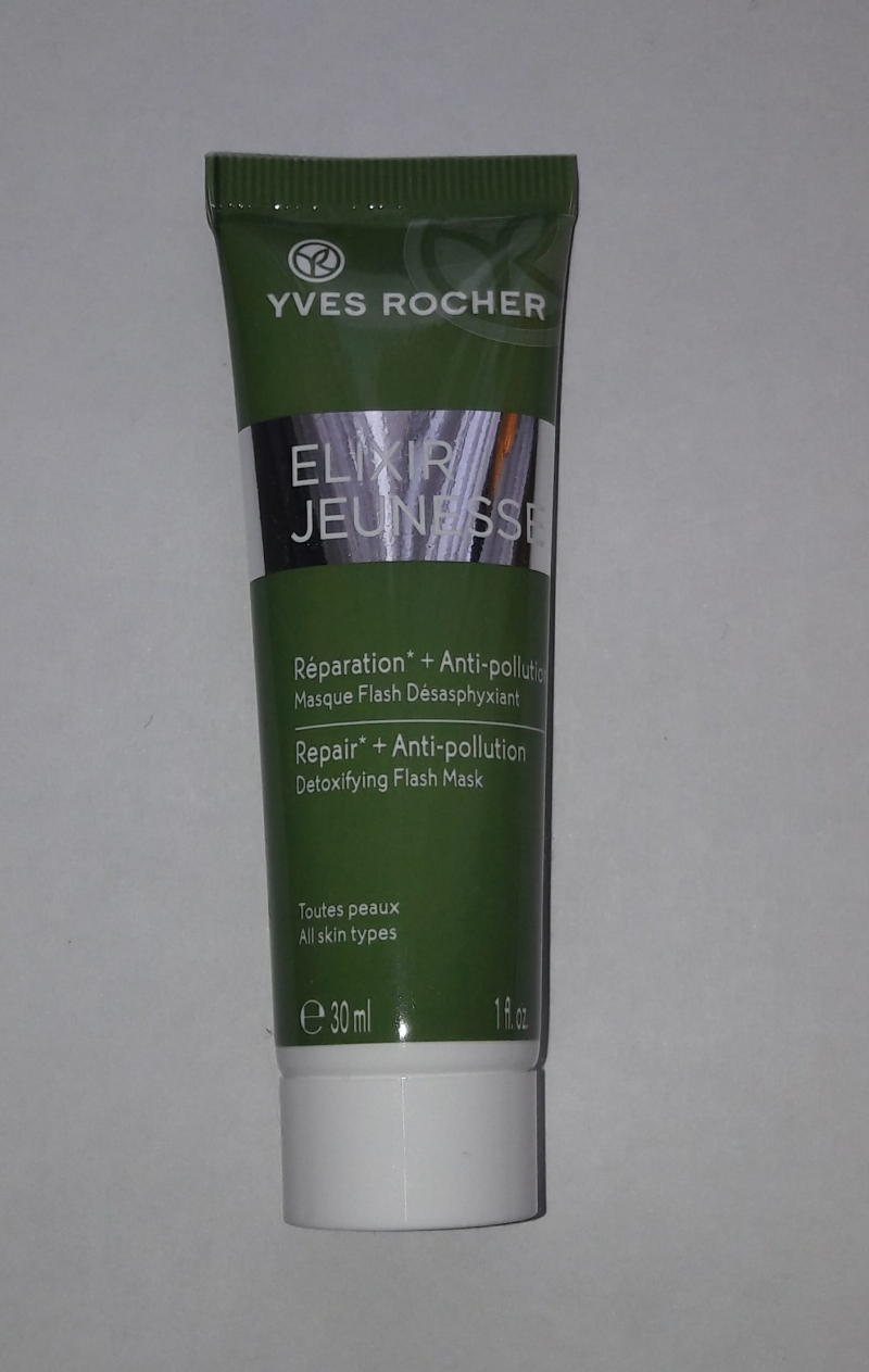 Swatch Masque Flash Désasphyxiant Elixir Jeunesse, Yves Rocher