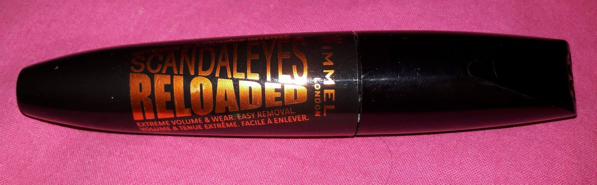 Swatch MASCARA SCANDALEYES RELOADED, Rimmel london