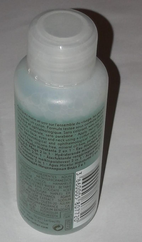 Swatch Eau micellaire hydratante 2 en 1 - Hydra Végétal, YVES ROCHER