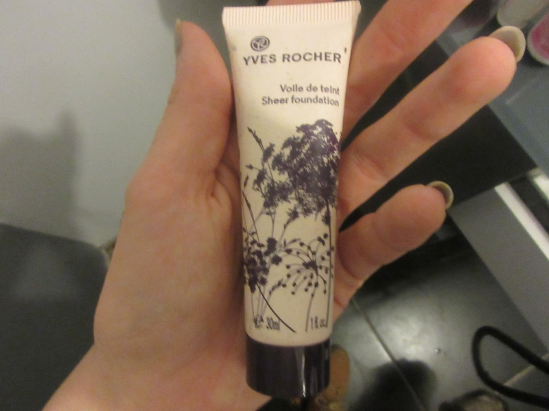 Swatch Voile de teint Sheer fondation, Yves Rocher