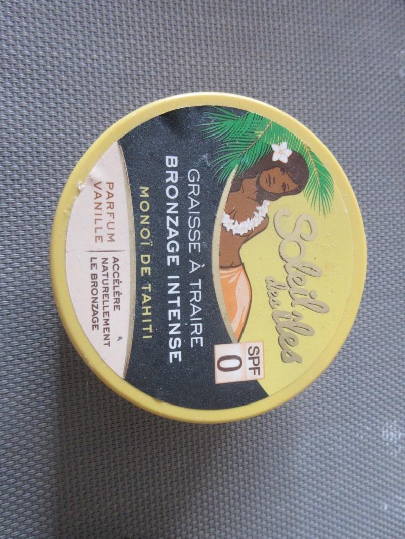 Swatch Graisse à Traire SPF3 - Parfum vanille, Soleil Des Îles