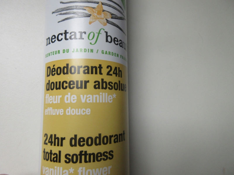 Swatch Déodorant 24h douceur absolue, Nector of Beauty