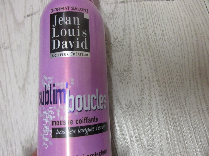 Swatch Mousse Coiffante Sublim'boucles, Jean Louis David