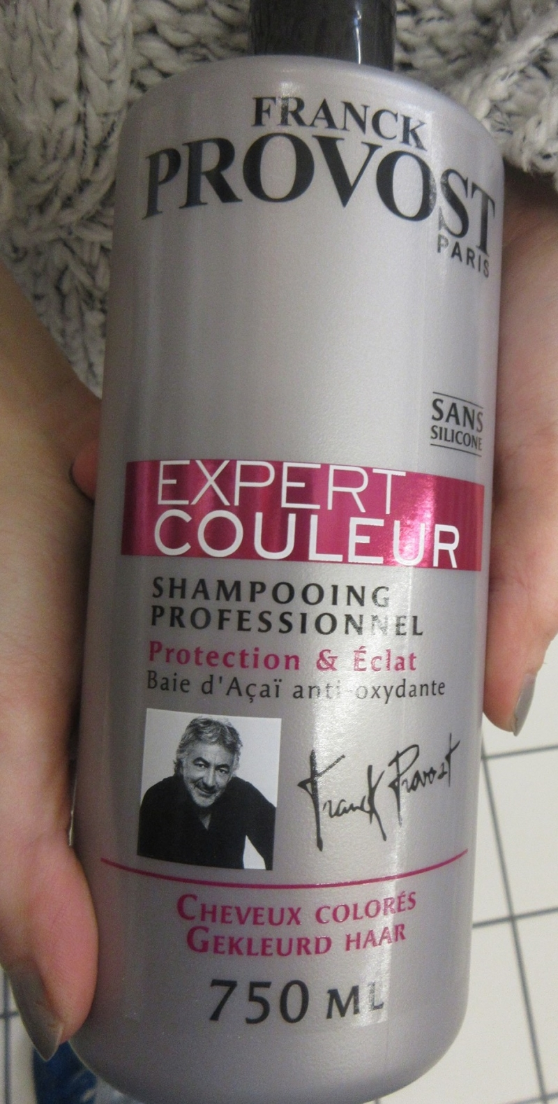 Swatch Expert couleur, Franck Provost
