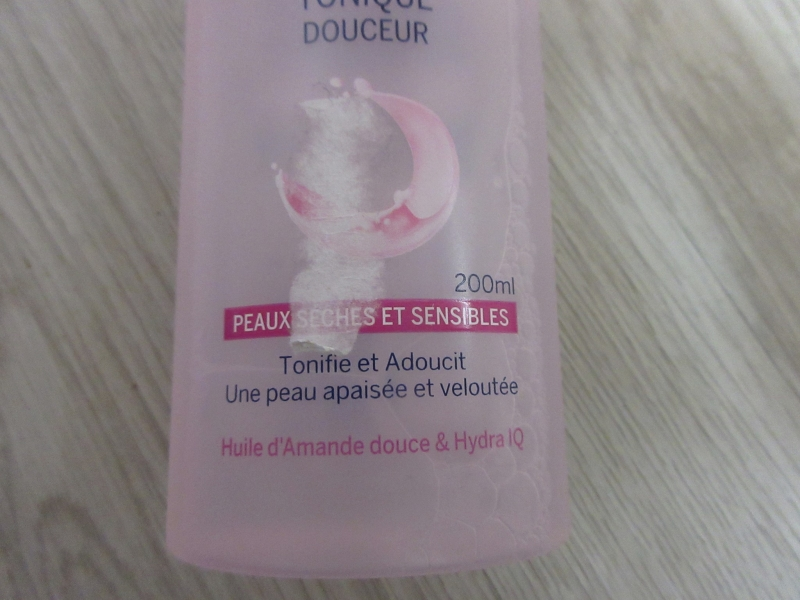Swatch Tonique Douceur, Nivea