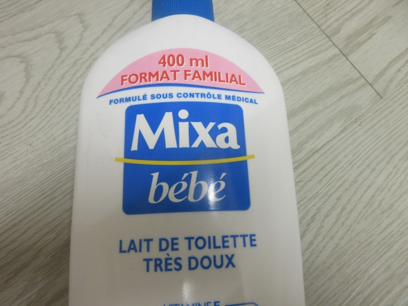 Swatch Bébé Lait de toilette très doux, Mixa