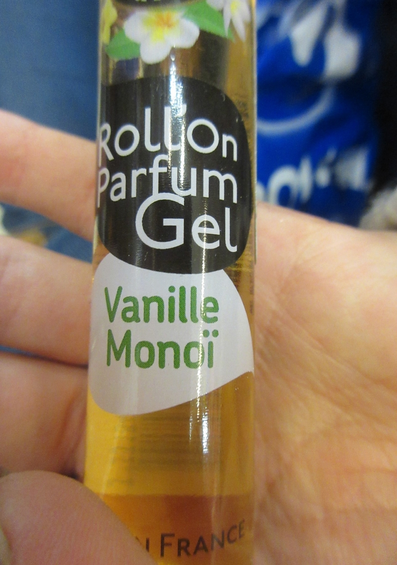 Swatch Roll'On Parfum Gel / Vanille Monoi, Les Petits Plaisirs
