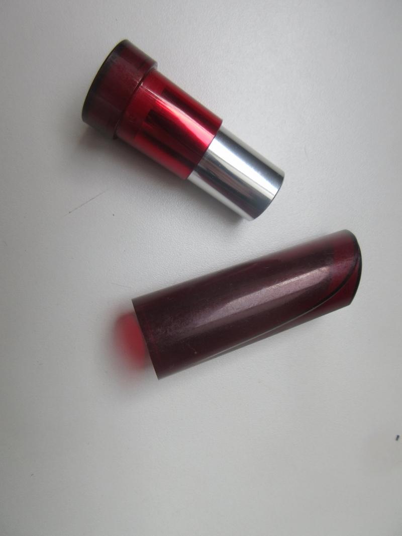Swatch Rouge brillance végétale, Yves Rocher