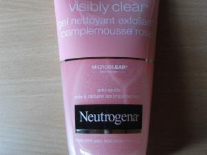Swatch Gel Nettoyant Exfoliant Pamplemousse Rose, Neutrogena